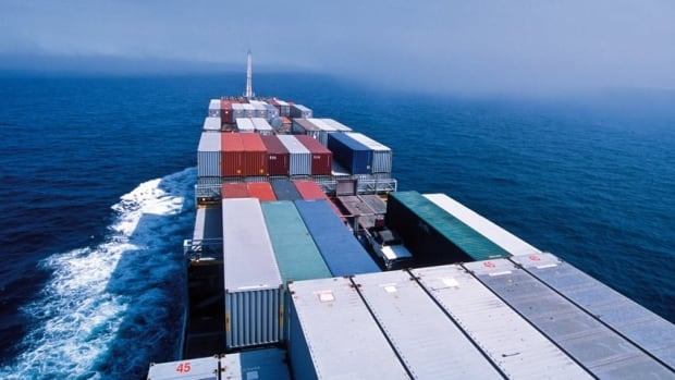 Canada's trade deficit dropped to $901 million in December.