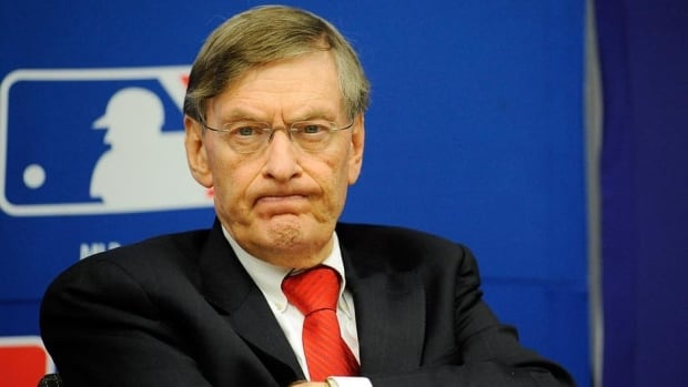Major League Baseball commissioner Bud Selig said he can't stop the season in August.