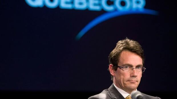 Pierre Karl Peladeau is stepping aside as president and chief executive of Quebecor Inc. and Quebecor Media Inc.