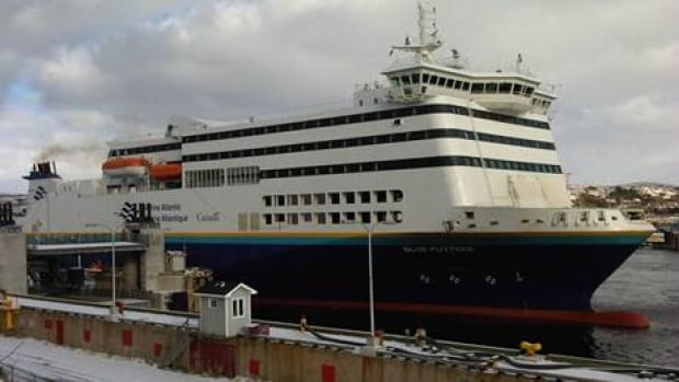 Marine Atlantic has had to tie up many of its ferries this week because of rough winter weather.