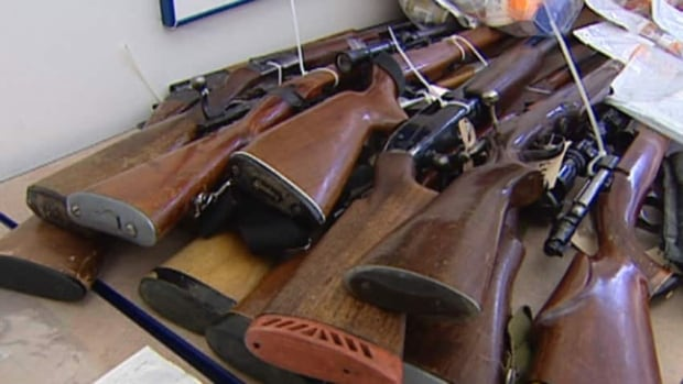In 2006, a gun amnesty month in Hamilton netted 1,254 unwanted firearms and tens of thousands of rounds of ammunition.