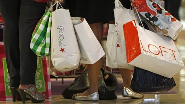 Sales at department stores fell one per cent in February.