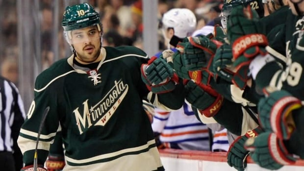Devin Setoguchi is on the move again. Just two season after being dealt to Minnesota from the San Jose Sharks, the Wild have traded Setoguchi to the Winnipeg Jets for a 2014 draft pick.
