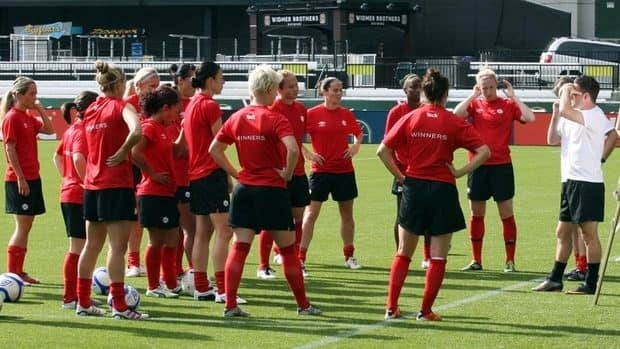 Head coach John Herdman said Canada's women's soccer team is integrating young players and working on a new style of play.
