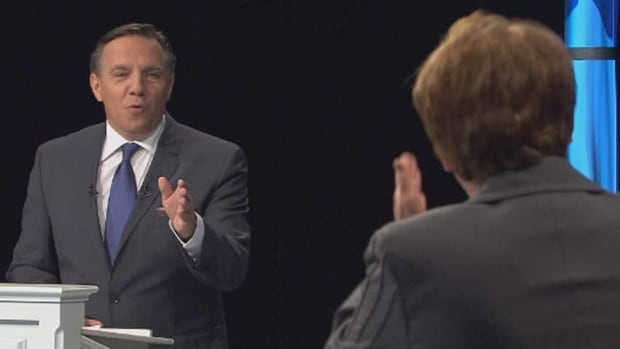 CAQ leader François Legault and PQ leader Pauline Marois participated in a French-language debate only during the last provincial election in 2012.