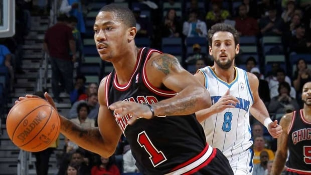 "Chicago Bulls guard Derrick Rose said he'll return when he feels ""normal."""
