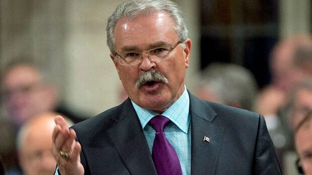 Agriculture minister Gerry Ritz answers a question in the House of Commons. Unions representing workers at Agriculture and Agri-Food Canada say they are concerned about government's move away from research at the department.