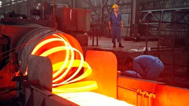 Slackening demand from China for iron ore has cut into Labrador Iron Mines' revenues.