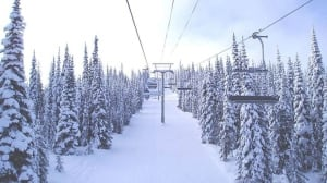 Family of skiers safe after going out of bounds at Sun Peaks Resort