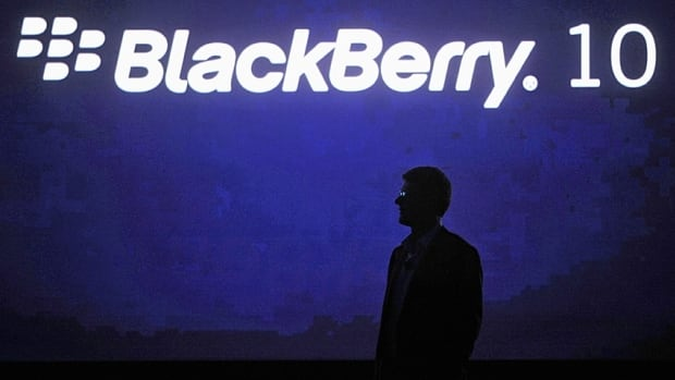 The Blackberry 10 was introduced last January.