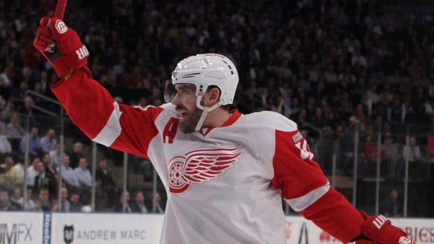 Red Wings captain Henrik Zetterberg had 48 points in 45 NHL games this season for Detroit.