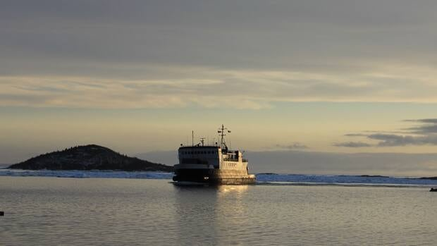 The Beaumont Hamel (pictured in a 2012 file photo) is back on the Fogo Island-Change Islands ferry run. The ship returned to service early Tuesday morning.