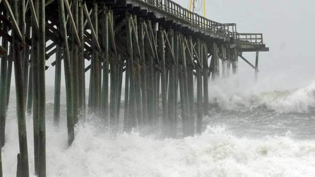 American forecasters said there was a 70 per cent chance of a very busy hurricane season.