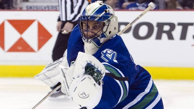 Vancouver Canucsk goaltender Roberto Luongo has 10 years remaining on a 12-year contract that's worth $64 million US.