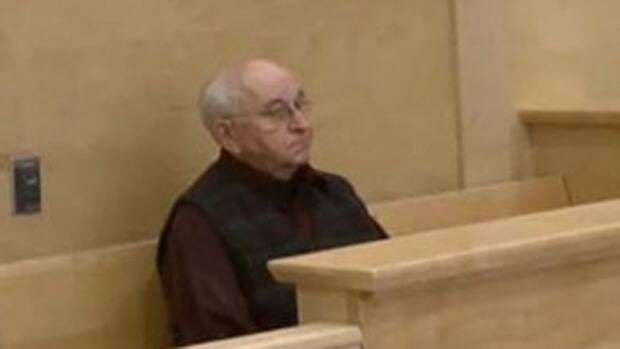 George Ansel Smith pictured at provincial court in Corner Brook in December 2011. CBC