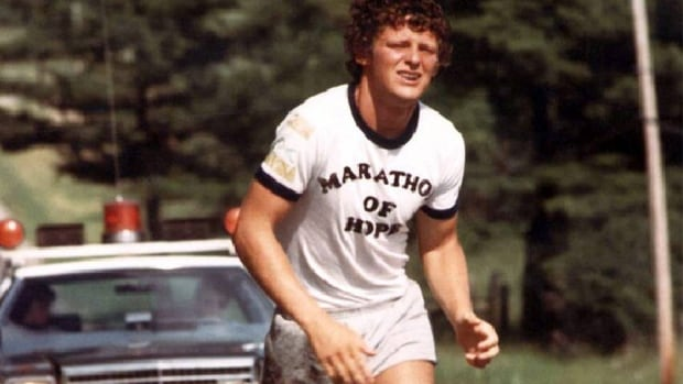 Terry Fox ran the equivalent of 143 marathons in 143 days during his Marathon of Hope for cancer research in 1980.