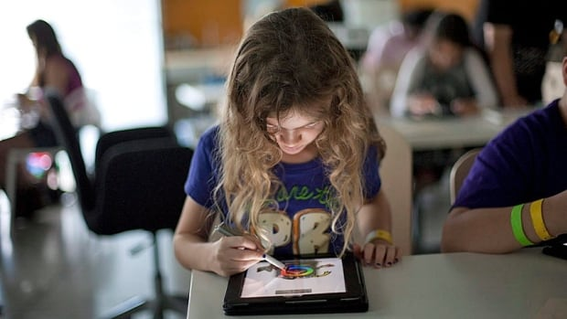 Sparling says she hopes the tablet apps will engage museum visitors.