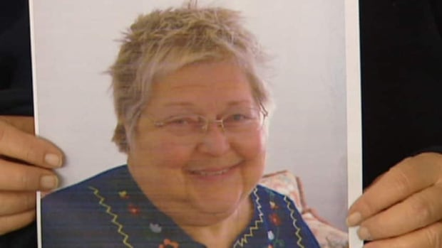 Heather Brenan, 68, collapsed on her doorstep shortly after she took a taxi home from the Seven Oaks General Hospital on Jan. 27, 2012. She died the next day. An autopsy determined that she died from blood clots in her lower legs that travelled to her lungs. (CBC)
