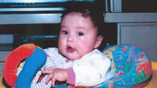 Phoenix Sinclair is seen in a photograph that was submitted to a public inquiry looking into the circumstances surrounding the young girl's death in 2005. The inquiry is expected to resume hearings on April 15.