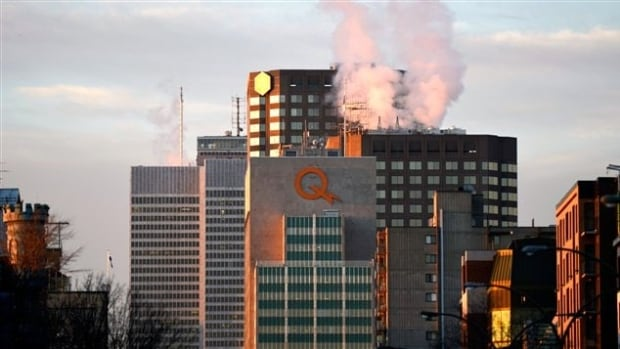 "Hydro-Québec is asking its customers to reduce their power use, and it's turning off the big ""Q"" logo at its head office in Montreal to set an example."