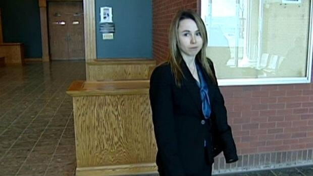 Susanna Collins, seen following a provincial court appearance in April, will stand trial in the New Year.