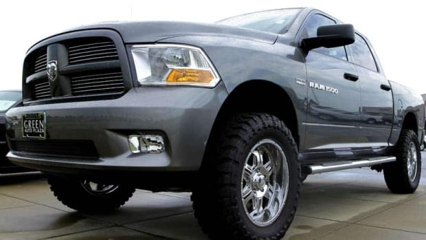 Sales of Chrysler vehicles in Canada increased by 11 per cent in June from a year earlier, boosted by truck sales including the Dodge Ram, above.