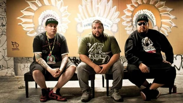 A Tribe Called Red is nominated for breakthrough group of the year and electronic album of the year for Nation II Nation.