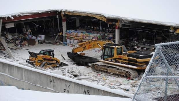 The company assigned to take down the mall said it will take more than two months to dismantle the shopping centre.