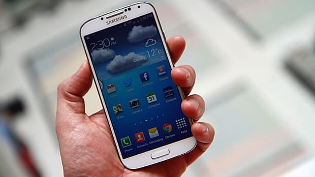 Samsung's Galaxy S4 smartphone is being released through just about every Canadian carrier on April 27.