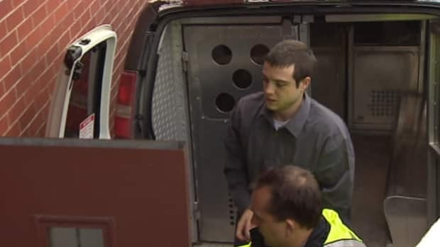 Kyle David Fredericks arrived at the courthouse Tuesday for the trial.