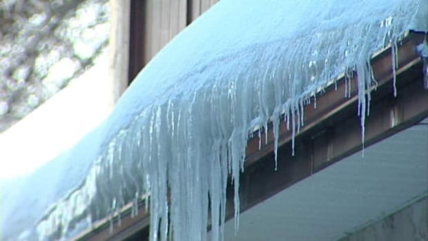 Ice dams are common in winters when there's heavy snow and a prolonged freeze and thaw cycle.