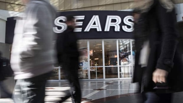 Sears Canada is sending a $5 a share dividend to its shareholders, despite losing money in the midst of restructuring.