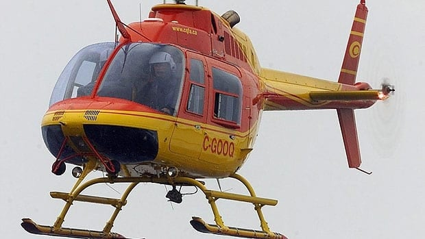 The helicopter that crashed in northern Manitoba was a Bell 206, like this one pictured in Quebec.