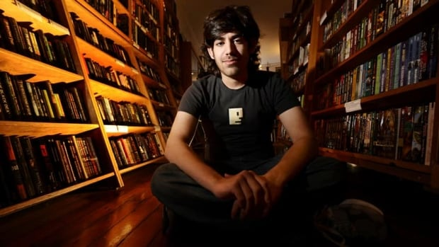 Aaron Swartz, seen here in 2008, hanged himself in his Brooklyn apartment on Friday. The Reddit co-founder was facing federal charges for allegedly stealing millions of scientific journals.