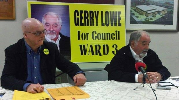 Gerry Lowe defeated Michelle Hooton, a former deputy mayor of the city, along with six other candidates in Monday night's Ward 3 byelection.