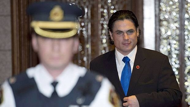 Senator Patrick Brazeau, pictured sitting in the Senate in December, is one of three senators whose housing allowance claims were reviewed by external auditors.
