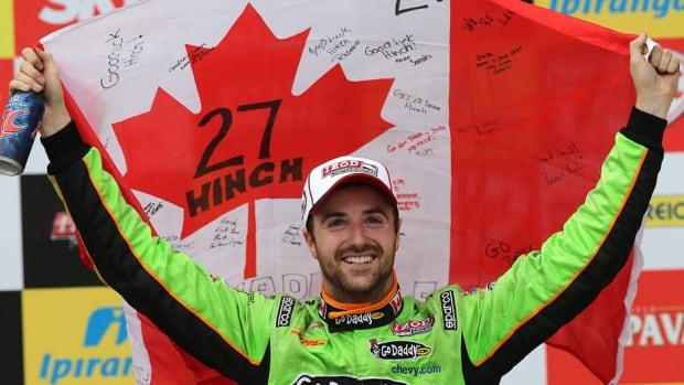 James Hinchcliffe of Canada now has two career IndyCar victories. His first was in March in St. Petersburg, Florida.