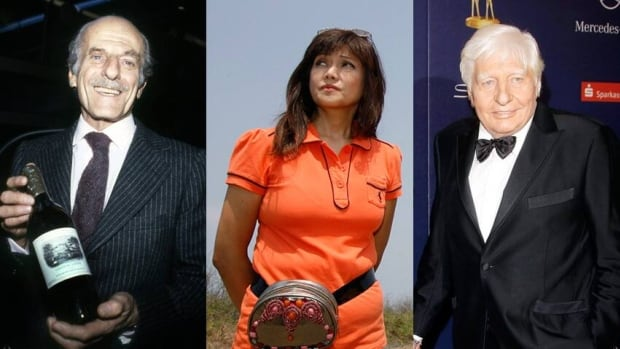 Notable names in the colossal leak of offshore financial records include, from left, banking family scion Élie de Rothschild, Imee Marcos of the Philippine political dynasty and millionaire former playboy Gunther Sachs, who married Brigitte Bardot.