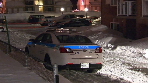 Police are investigating after several suspects forced their way into an apartment overnight, in Terrebonne.