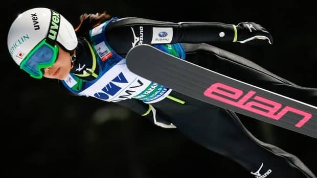 Sara Takanashi of Japan increased her lead in the World Cup ski jumping standings with a first-place finish in Germany on Saturday.