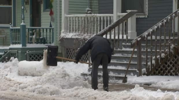 Homeowners on the Halifax peninsula are responsible for clearing their own sidewalks.