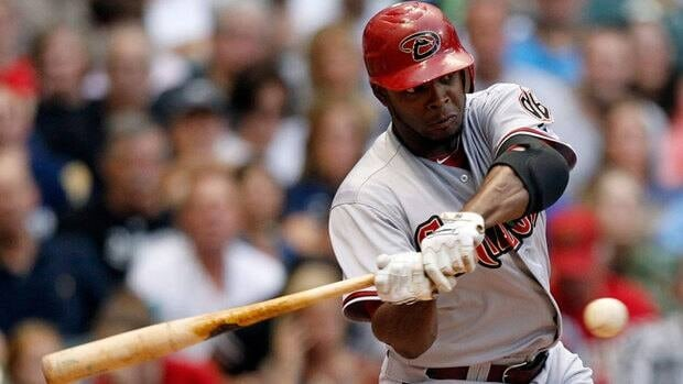 Justin Upton, seen here with the Arizona Diamondbacks, has been dealt to the Atlanta Braves in a seven-player deal.