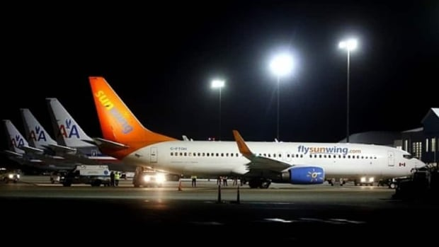 Daryl McWilliams, vice-president of media relations with Sunwing, said the total costs for the diverted flight to Bermuda was approaching $50,000, including hotel rooms for passengers and crew.