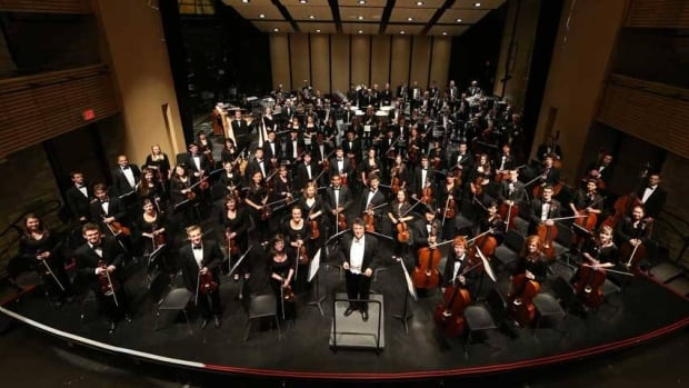 The National Youth Orchestra of Canada in 2012. Top students of the classical music training program are in India and will collaborate in the Canada-India Youth Orchestra.