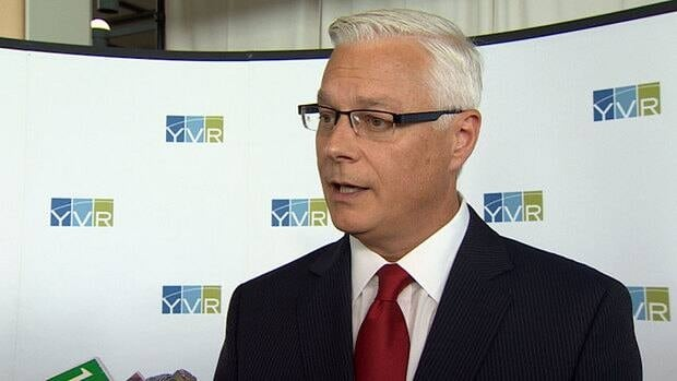 Craig Richmond will become CEO and president of YVR on July 2.