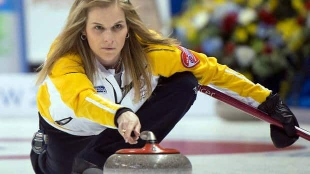 Manitoba skip Jennifer Jones was right on her game Sunday morning in the third draw of the Scotties, national championship.