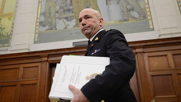 RCMP Commissioner Bob Paulson testified before both the Commons public safety and status of women committees on Tuesday, telling MPs he's doing everything he can to increase the number of women in uniform.
