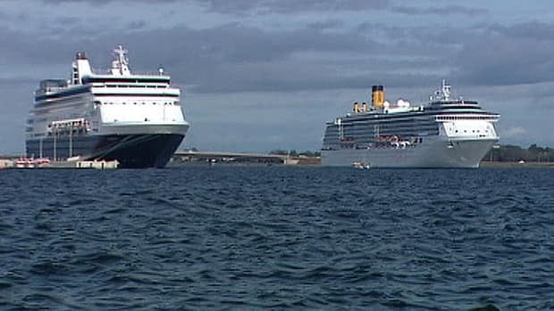 The cruise ship schedule for Charlottetown is very busy for July and August.