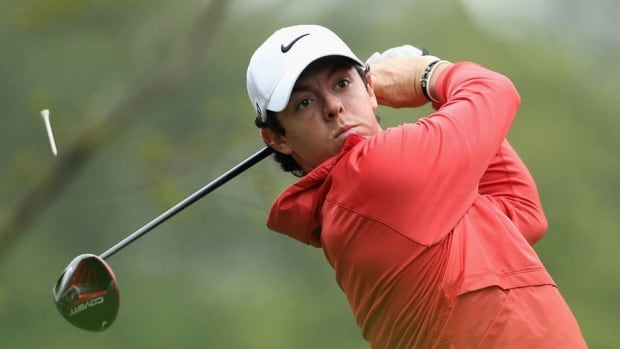 Co-leader Rory McIlroy made six birdies in a seven-hole stretch during Thursday's opening round of the Wells Fargo Championship.