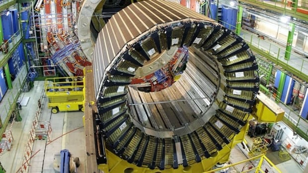 Physicists working at the $10-billion Large Hadron Collider near the French-Swiss border say they believe they have discovered the Higgs boson particle, also known as the God particle.